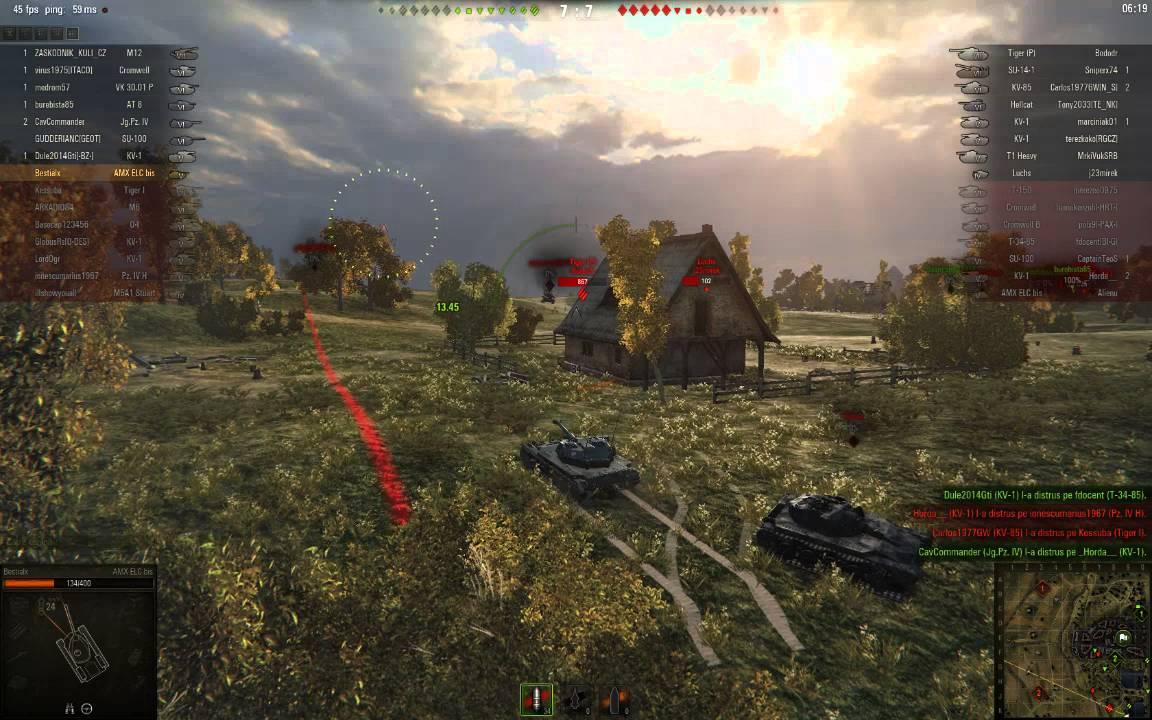 World of Tanks Romania was live. - facebook.com
