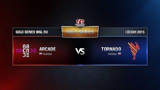 ARCADE vs TORNADO Week 4 Match 3 WGL RU Season I 2015-2016. Gold Series Group  Round