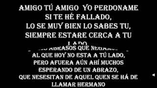Alex Campos - Amigos (Letra)