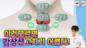 [5편]갑상선기능질환이 있는 분들 이 영상 놓치면 후회합니다! 단계별 영양제 다 모았다!!