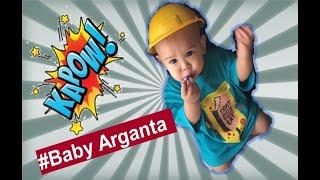 Abdil Playground funny baby bayi 7 bulan ketawa lucu