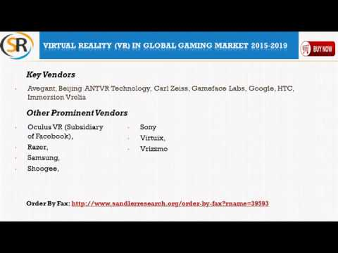 Virtual Reality VR in Global Gaming Market 2015 – 2019