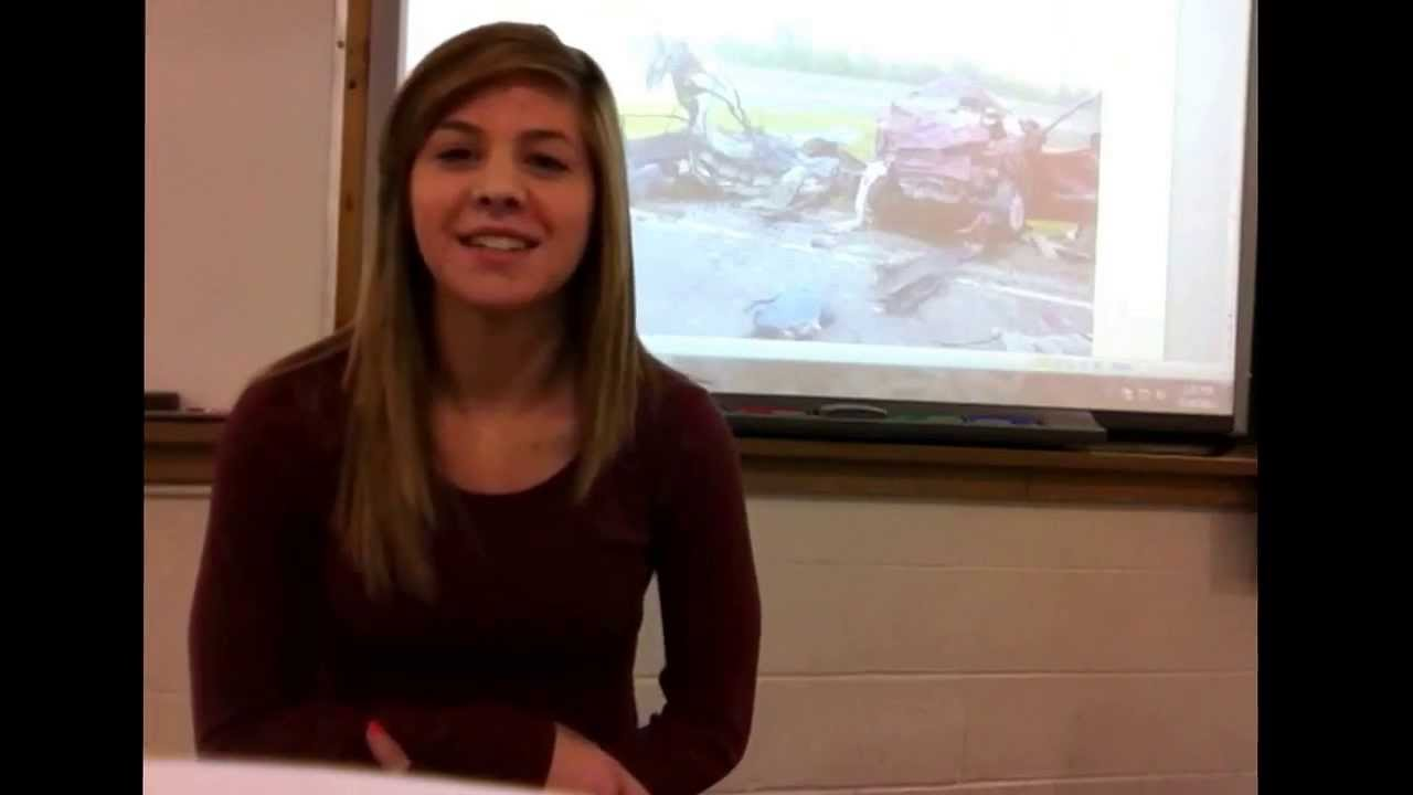 texting while driving persuasive speech main points