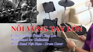 Nối Vòng Tay Lớn Rock (Trịnh Công Sơn - Unlimited) ♪ | Drum Cover 30-4 ♥ | Trống Việt TV