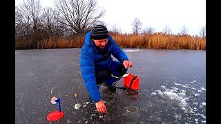 РЫБАЛКА на ЖЕРЛИЦЫ в новом месте Рыбалка на жерлицы 2019 2020 Рыбалка в Рязанской области