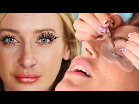 We Tried The Weirdest Lash Trends