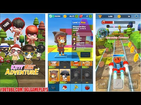 KittyRunAdventure : 3D Action run game Android iOS Gameplay (By DeliciousGames)