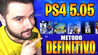 PS4 JAILBREAK 5.05 OFFLINE MÉTODO DEFINITIVO-9BRITO9