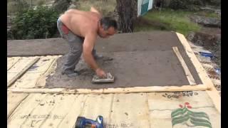 Construcción con neumáticos. Parte 2.
