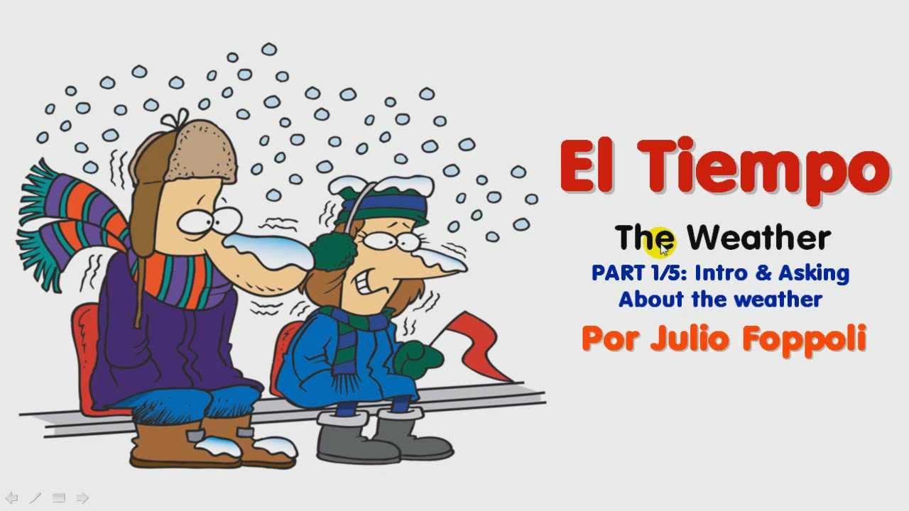 El tiempo the weather lesson 1 5 asking about the - El tiempo olleria ...