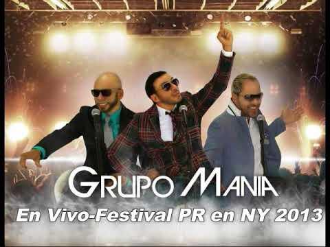 GRUPO MANIA en Vivo (Festival Puertorriqueño de Perth Amboy NJ) 2013