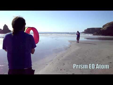 Fort Bragg Jug Handle Prism Kite Flying Atom Flip Triad, Tw/K&J