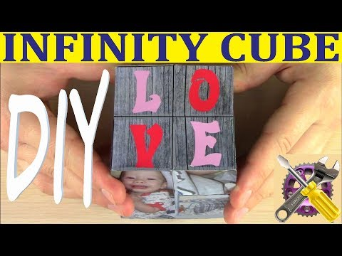 Magic Photo Cube Album - DIY INFINITY CUBE  ❤️