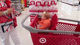 Huge Target In Utah! Shopping With Reborn Doll and Full Body Silicone Baby Doll