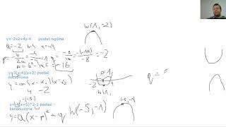 Jak zdać maturę z matematyki? cz.5 Funkcje(1) Wierzchołek paraboli