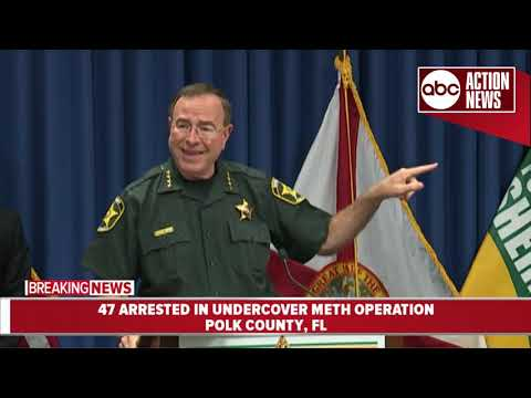 47 suspects charged in undercover meth operation | presser