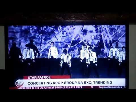 EXO PLANET #5 (The ElyXiOn in Manila) On TV Patrol