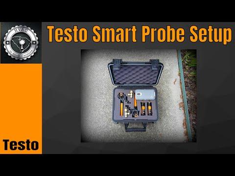 My Testo Smart Probe Setup