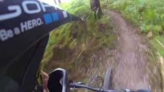 Forest of Dean 2013 Freeminers RED TRAIL MTB Singletrack