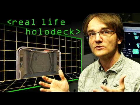 Real Life Holodeck with an Oculus Rift - Computerphile