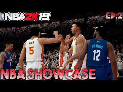 CAN OUR CHINESE TEAM OVERSEAS BEAT THE NBA ALL STARS!? NBA 2K19 MyCareer Ep.2!
