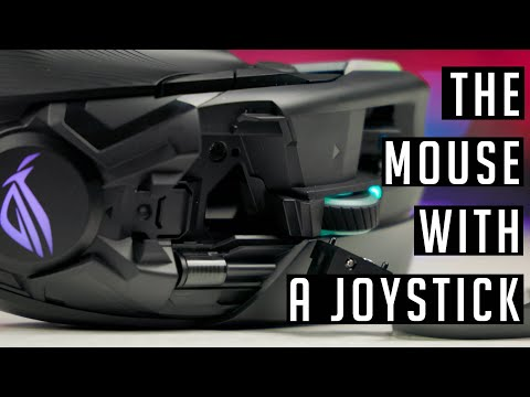 Mouse With Joystick ! Asus ROG Chakram Mouse (2020)