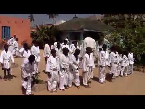 Karate can Kick Poverty. Day 4 of The Big Class at Maison de la Gare.