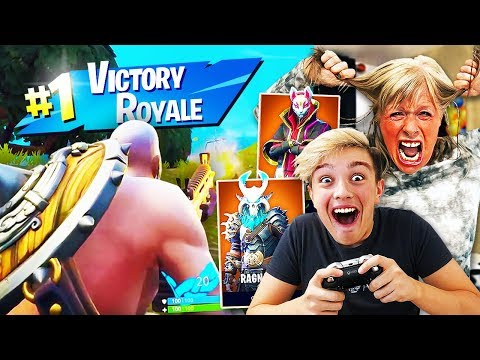 1 KILL = 100 *NEW* SEASON 5 SKINS FOR KID!! (Fortnite Season 5 FREE Skins Challenge)