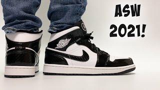 2021 NBA All Star Sneakers! Jordan 1 Mid All Star Carbon Fiber ON FEET!