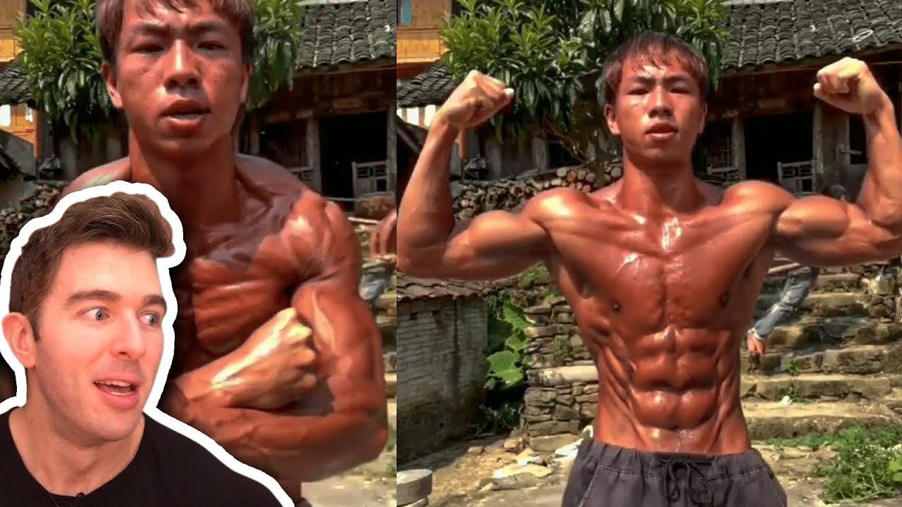 Rural Shredded Asian Teens Claim To Be Natural And Not Go To The GYM!