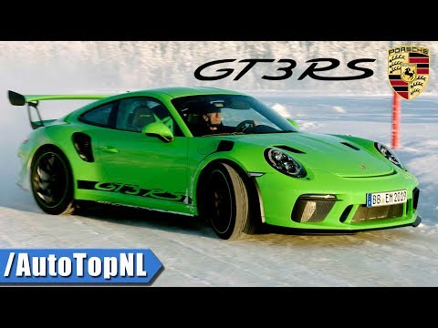 2018 Porsche 911 GT3 RS | LOOKS SOUND DRIVE & DRIFT On SNOW & TRACK