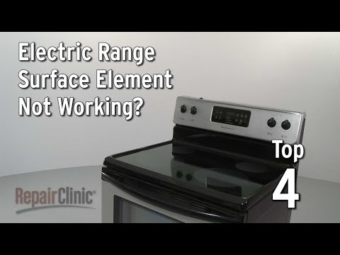 Surface Element Not Working — Electric Range Troubleshooting