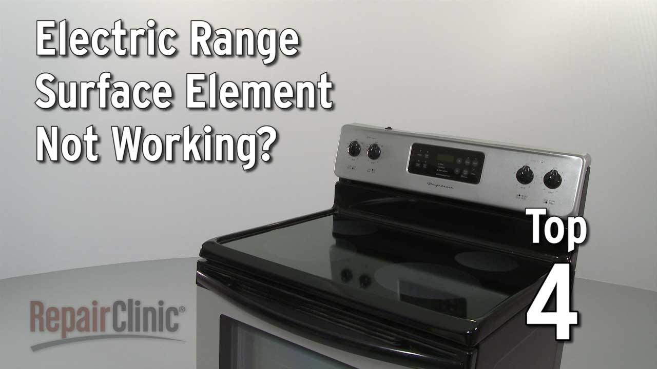 Surface Element Not Working Electric Range Troubleshooting Youtube Westinghouse Fuse Box
