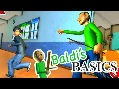 Baldi Bad Scarry Math Teacher Horror School Escape - Full Gameplay - Walkthrough