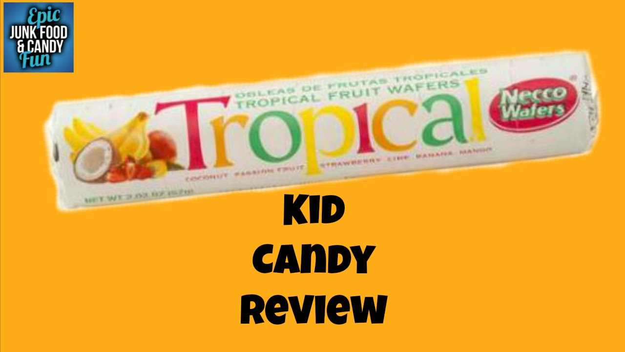 Necco Tropical Flavors, Classic Candy, Kid Candy Review