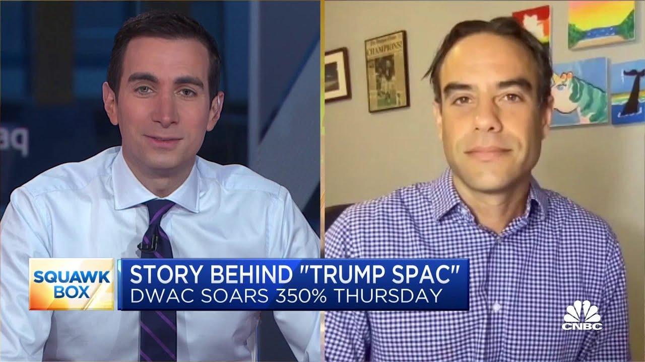 DWAC update: Meme stock crowd looks to push Trump's SPAC to ...