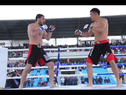 First Asian MMA Championship in Kyrgyzstan  Osh city 2015 .