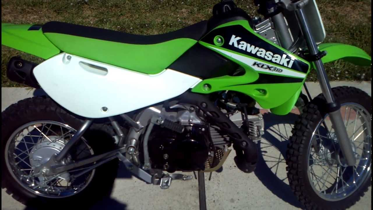 SOLD! 2006 KLX110 Low Hours Almost New - YouTube