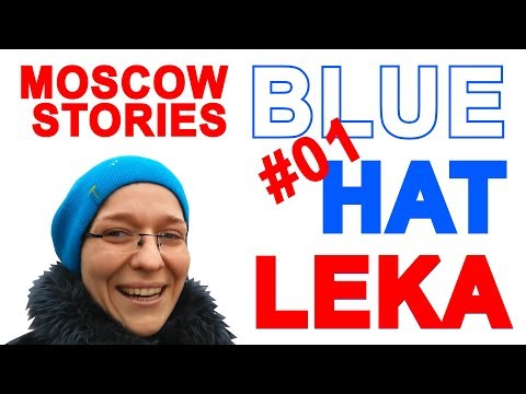 Moscow travel guide Learn Russian language best places walking in Moscow Pushkin monument Leka Blue