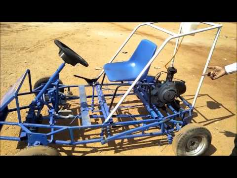 major project by aurora college four wheel steering system