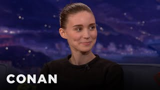 Rooney Mara Is Painfully Shy - CONAN on TBS