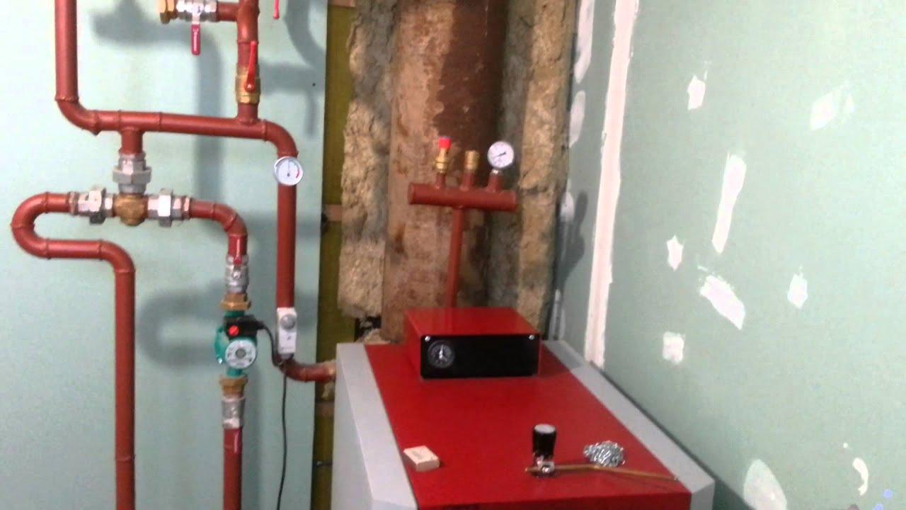 Отопление частного дома  Как выбирал котел