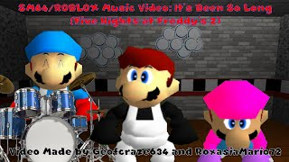 Super Mario 64 and ROBLOX Music Video: It's Been So Long (1st Half Collab Complete)