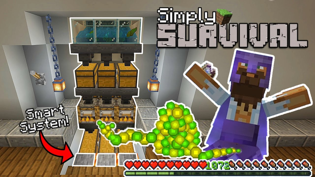 How to Build The Best Working Xp Farm With Smart System! (0 To Lvl 30 in Seconds) Minecraft Bedrock.