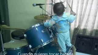 Niño Genio de la Batería.