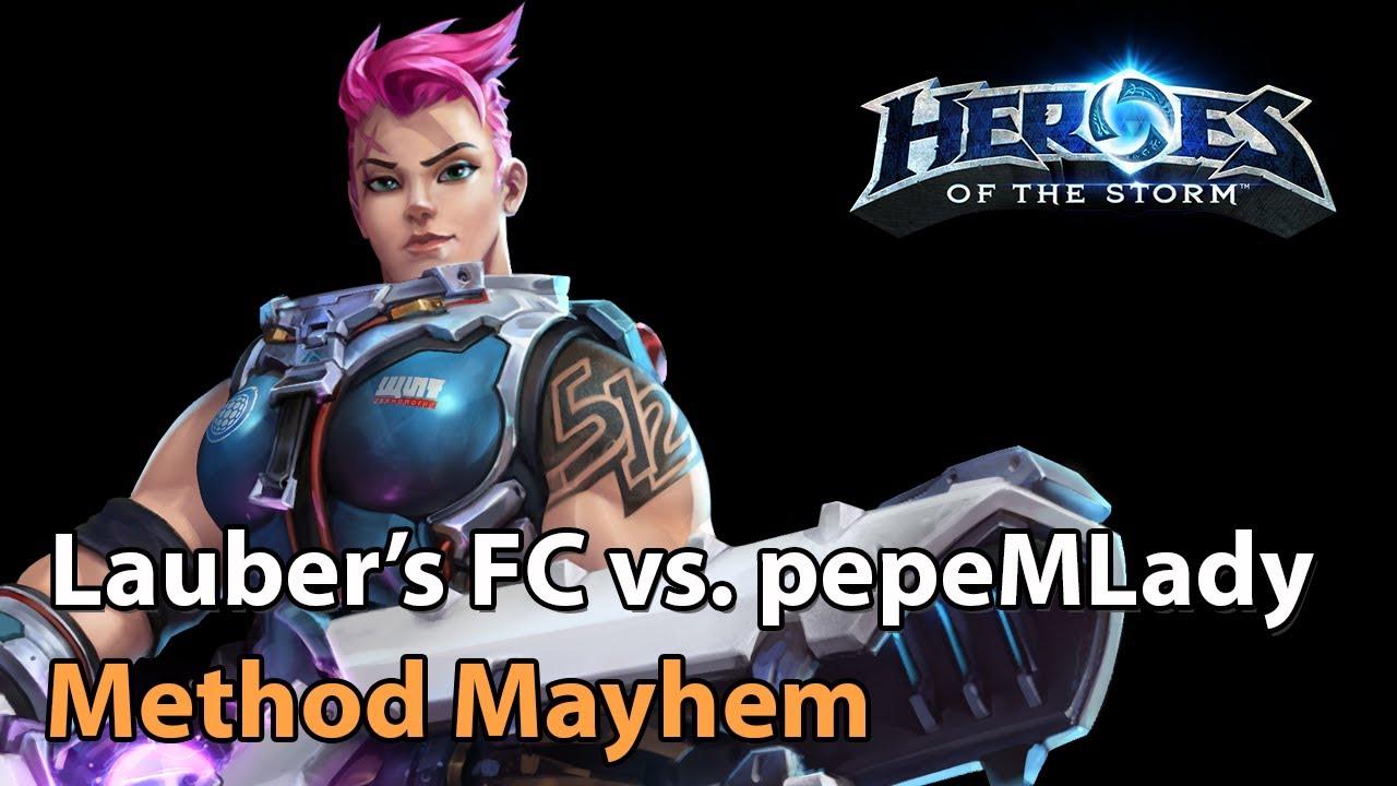 ► Laubers Fanclub vs. pepeMLady - Method Mayhem Monthly Final - Heroes of the Storm Esports