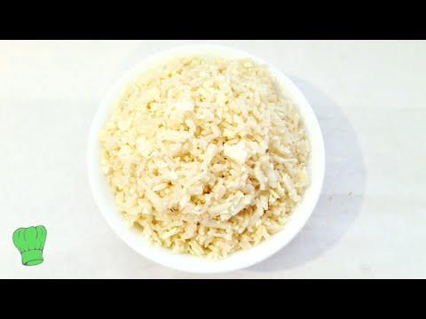 HOW TO REDUCE CALORIES IN WHITE RICE - FAST AND EASY  || Healthy White Rice || Nigerian Food Recipes