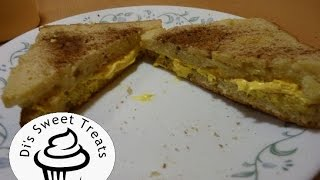 April Fool's Grilled Cheese Sandwich- Di's Sweet Treats