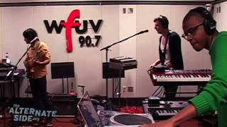 """Yeasayer - """"Madder Red"""" (Live at WFUV)"""