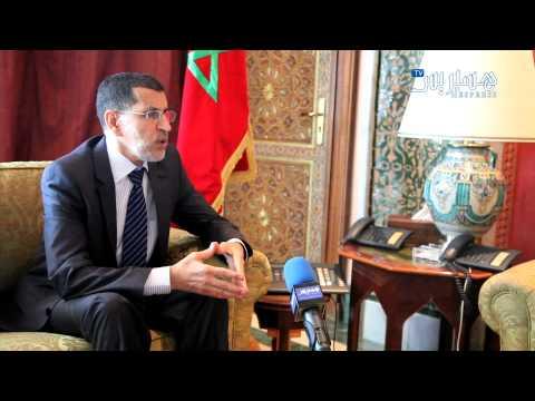 Hespress.com: Saâd Eddine El Othmani parle du roi, Benkirane, et El Amrani